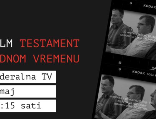 """""""Testament jednom vremenu"""" na festivalima i TV-u"""